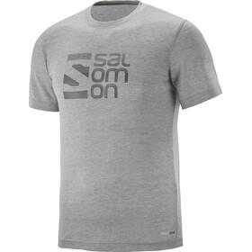 Salomon Explore Graphic - T-shirt manches courtes Homme - gris